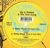 SALE ITEM - Leba - Natty Dread (Straight Mix) / Rub A Dub Mix / Dubwise / Instrumental (Taxi) 12""